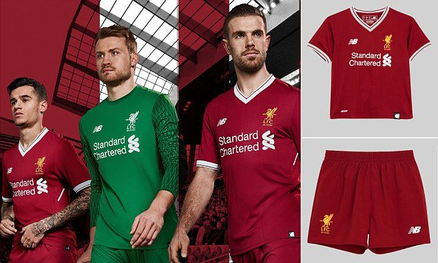 Liverpool FC kit revealed: New Reds home strip launched