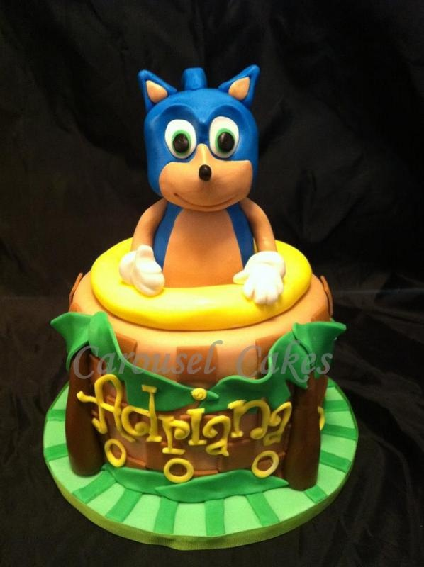 sonic the hedgehog cake 132 best my cakes images on cake decorating 7593