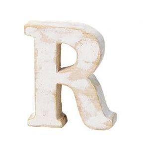 画像: もみの木素材のアルファベットオブジェ(r