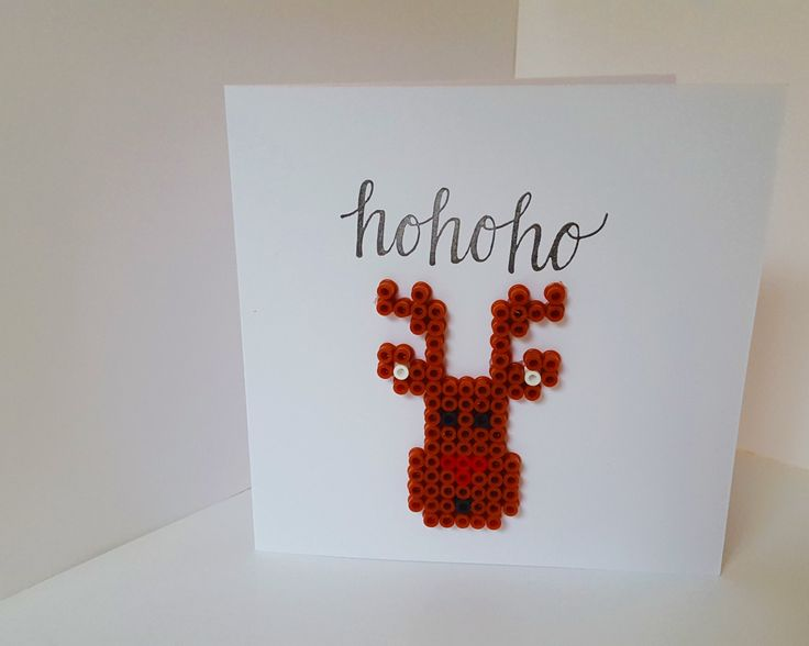 Rudolf Christmas Card by NickyNackyNooGifts on Etsy