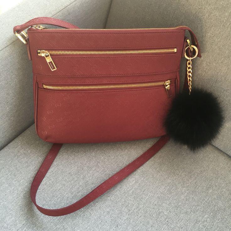 Vakko bag, ponpon, pompom, charm, bag charm
