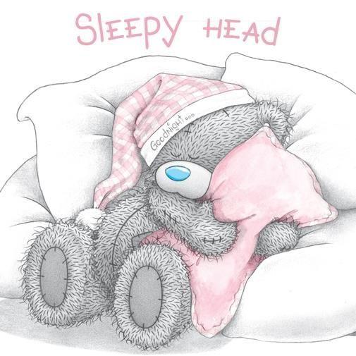 тедди картинки спят