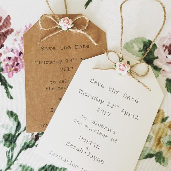 Cute Mini Gift Tag Save The Date Sample Gift Tags Rose Gift