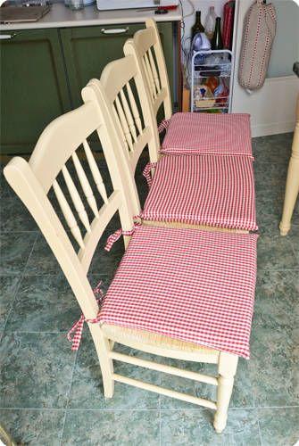 tutorial cuscini sedie