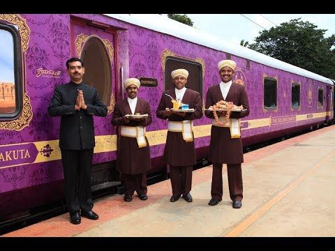 The Golden Chariot, a luxury train is appointed with the finest facilities that takes you on a journey truly unique and memorable. On its voyage, to some of #SouthIndia's mesmerising destinations trundling through spectacular locales, recapturing the romance of a by-gone era making your sojourn an unforgettable one, Video credit: Karnataka State Tourism Development Corporation Ltd