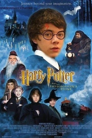 One Direction Harry Potter funny-stuff