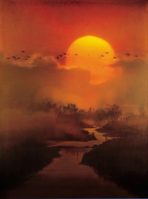 Apocalypse Now (choppers flight in)