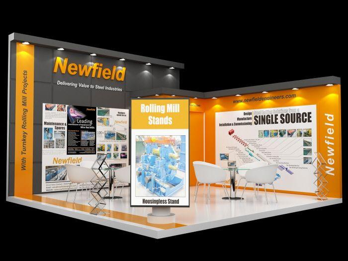 Exhibition Stall Designing by Yogesh Gautam at Coroflot.com