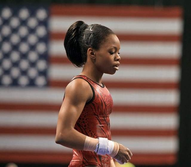 Gabby DouglasWomen Athletic, Tv Shows Movies Mus, Douglas Sam Age, Gabby Douglas Sam, Gymnastics Stuff, Sweets Gabby, Power People, Interesting Peep, Awesome Athletic
