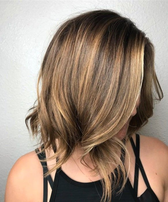 Easy Haircuts For Thick Coarse Hair Thick Hair Styles Long Layered Bob Hairstyles Medium Hair Styles