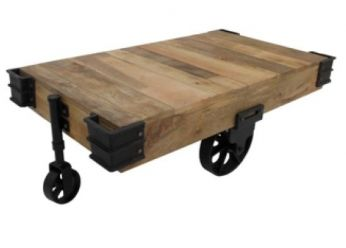 Cart Coffee Table - CDI - Available at Warehouse 74