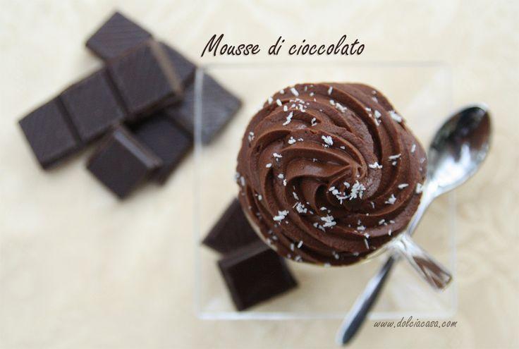 Mousse di cioccolato [Chocolate mousse]