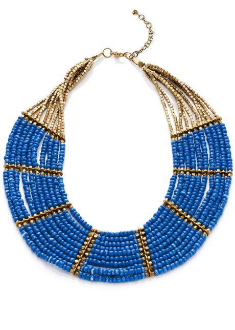 Le collier de perles multicolores, RAINBOW