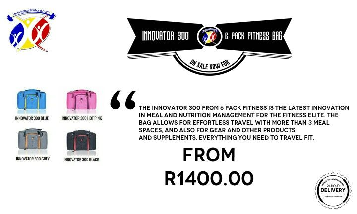 The latest fitness and nutrition products are at yourfitstore.com . Like this INNOVATOR 300 6 PACK FITNESS BAG that is an excellent bag for travelling with your fitness/gym/sporting gear. Avaliable in associated colours,get yours today  http://www.yourfitstore.com/shop/innovator-300-6-pack-fitness-bag/  #bags #fitness #gear #luggage #athletes #training #travel #colors #gym #sports #training