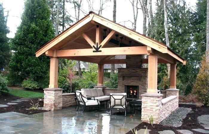 20 Gorgeous Backyard Pavilion Ideas Backyard Pavilion Outdoor Covered Patio Backyard Gazebo