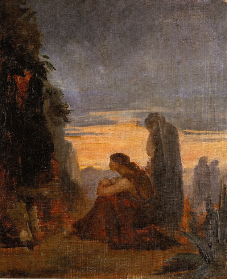 Holy Women by the Tomb, Marie Bashkirtseff