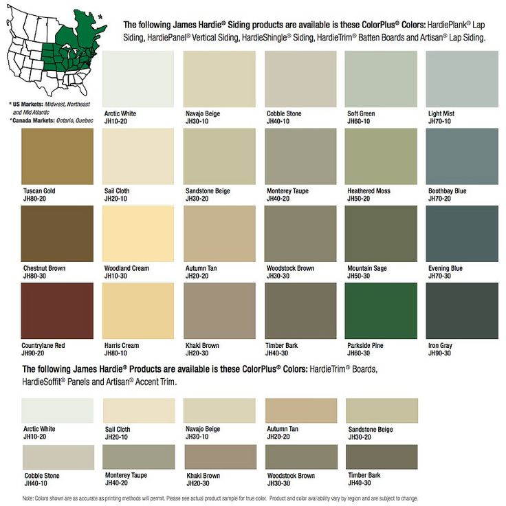 Fiber Cement Siding Hardie Board Colors 107 Pinterest