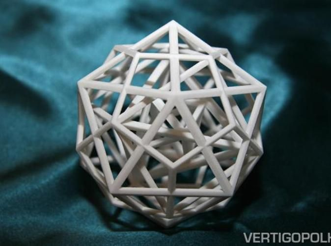 Check out Nested Platonic Solids IDHTO 80mm by vertigopolka on Shapeways and discover more 3D printed products in Sculptures / Art.