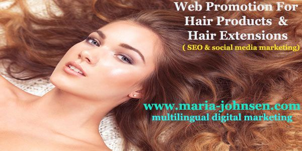 hair extension and hair products promotion
