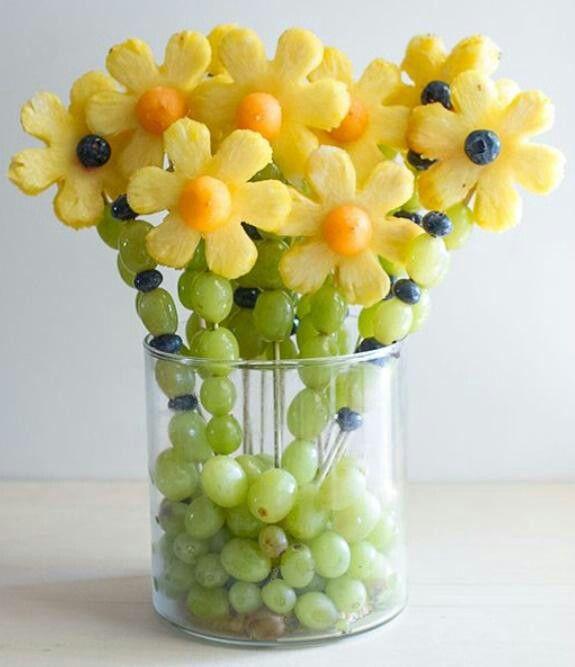 Frugt blomster