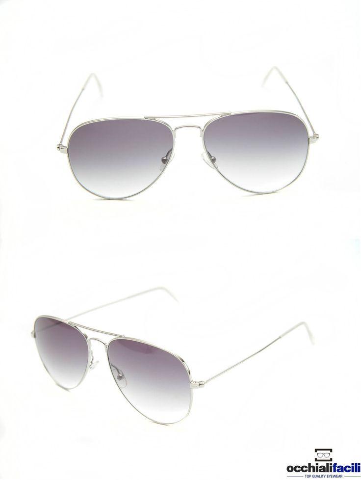 Occhiali da sole Mata Mod.1272 Col.S,in metallo con doppio ponte e terminali in celluloide,  lenti sfumate e forma a goccia. http://www.occhialifacili.com/prodotto/occhiali-da-sole-mata-1272-col-y1/