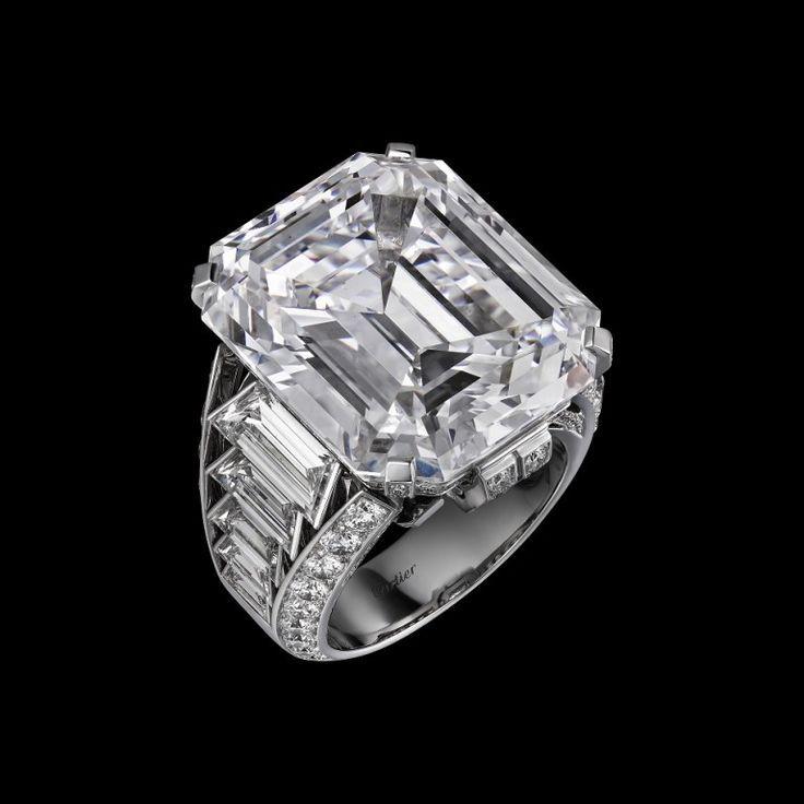 Trendy Diamond Rings : GABRIELLE'S AMAZING FANTASY CLOSET | Cartier diamond ring - #Rings https://youfashion.net/wedding/rings/diamond-rings-gabrielles-amazing-fantasy-closet-cartier-diamond-ring/