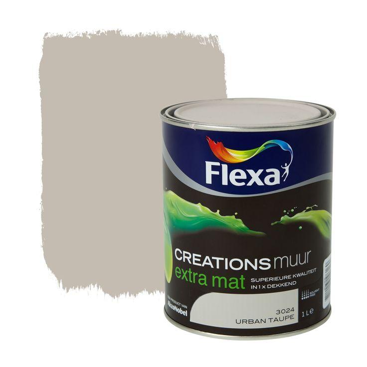 Flexa Creations muurverf extra mat urban taupe 1 l