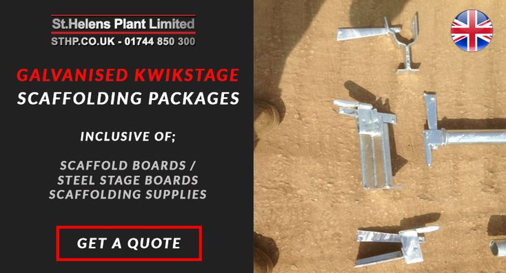 St Helens Plant manufacture and supply galvanised kwikstage alongside a wide range of galvanised scaffolding supplies, systems and access products.