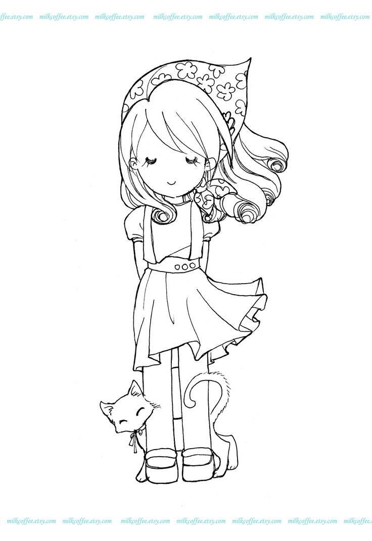 chica, gato