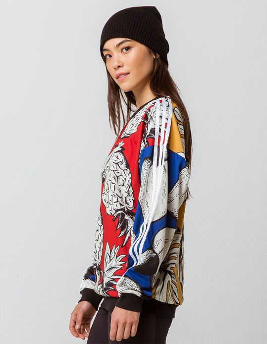 d962eeff119 ADIDAS Pineapple Womens Boyfriend Sweatshirt | Wish List! in 2019 | Adidas,  Sweatshirts, Women
