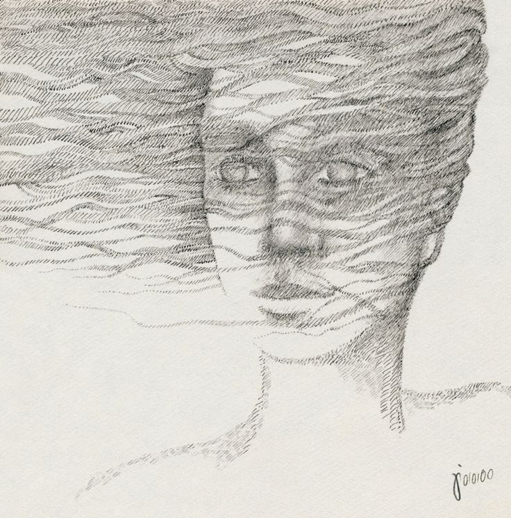"""""""CRISSCROSS"""" 20x20cm   Pen on Cardboard ▲ By Mostafa Akbari © ▌2013 www.mostafaakbari.com"""