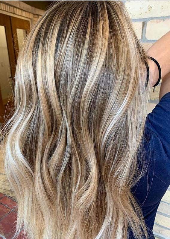 Gorgeous Balayage Blended Contrast Hair Color Ideas For Women 2020 In 2020 Hair Color For Women Hair Color Long Hair Styles