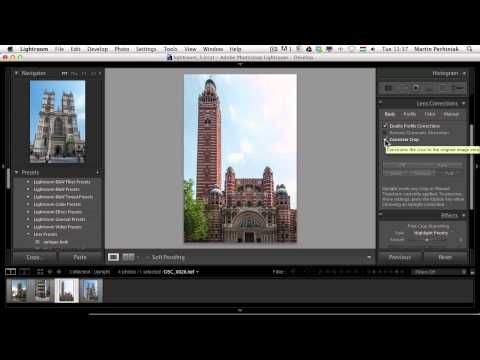 Lightroom 5 Features: Using the Upright Tool - Tuts+ Photo & Video Tutorial