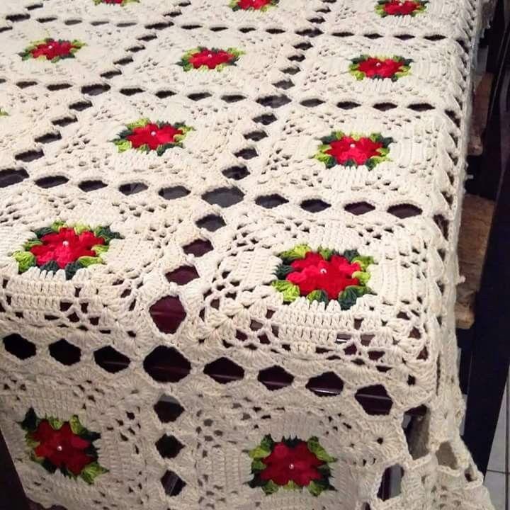 Colchas Padrao De Colcha De Croche Toalha De Mesa Croche
