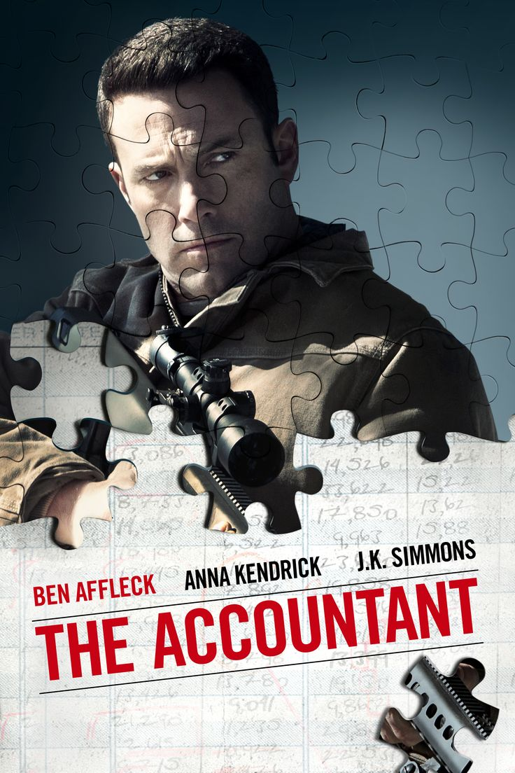 ACCOUNTANT, THE (2016) - A forensic accountant un-cooks the books for illicit clients. Stars Ben Affleck & Anna Kendrick. (CC)