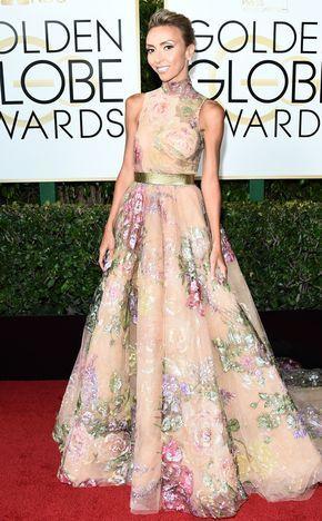 Giuliana Rancic, 2017 Golden Globes, Arrivals