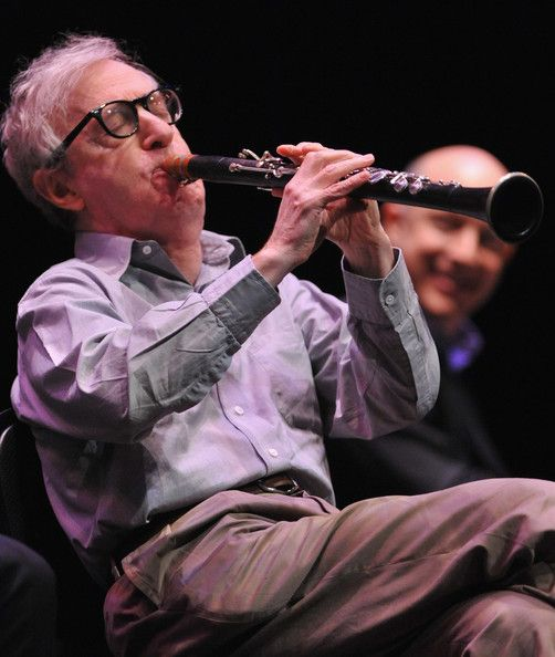 Woody Allen And His New Orleans Jazz Band Performs At UCLA's Royce Hall