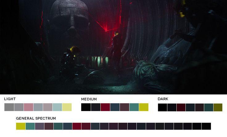 Ridley Scott Week  Prometheus, 2012  Cinematography: Dariusz Wolski