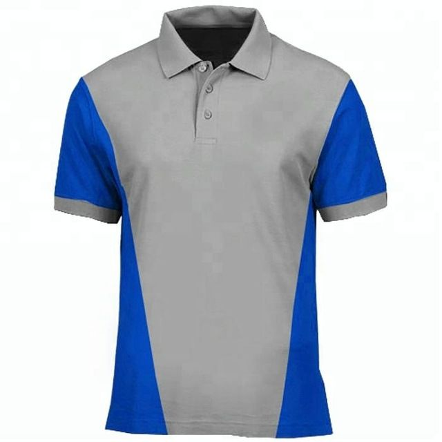 Source High Quality 100% Cotton Pique Mens Customized Polo Shirts on