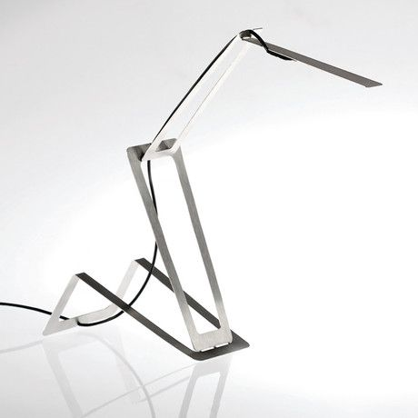 LED Desk light by Masiosare Studio  // I like how it seems to unfold. It feels animated.
