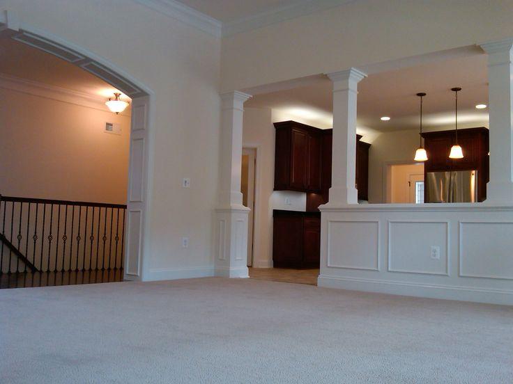 Interior Columns J Hall Homes Inc Pinterest