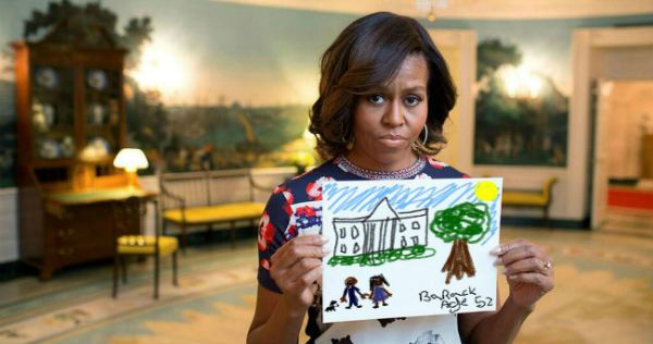 Best of the Michelle Obama Holding A Sign / First Lady PSA Meme - 12 Pics