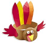 My favorite Thanksgiving craft! We wear these when our KinderParents come to visit on Family Day.