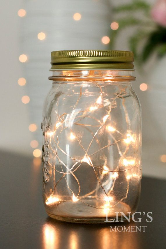 20LED 6.5 Feet Fairy String Lights Battery Included Free Shipping-Starry Lights Warm White for Mason Jar-Wedding Christmas Decor LEDFLS-020