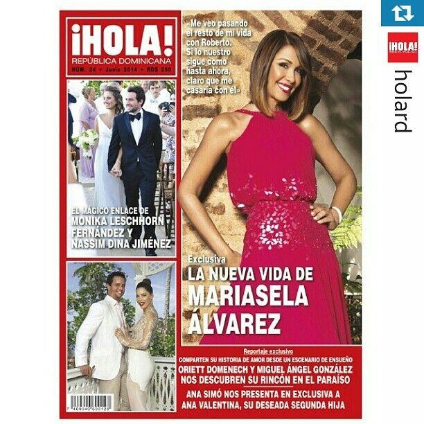 Portada revista Hola, Mariasela Alvarez