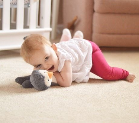 Sometimes all you need is a snuggle with your penguin  #happybaby #golittleonego #crawlingpants #adorable