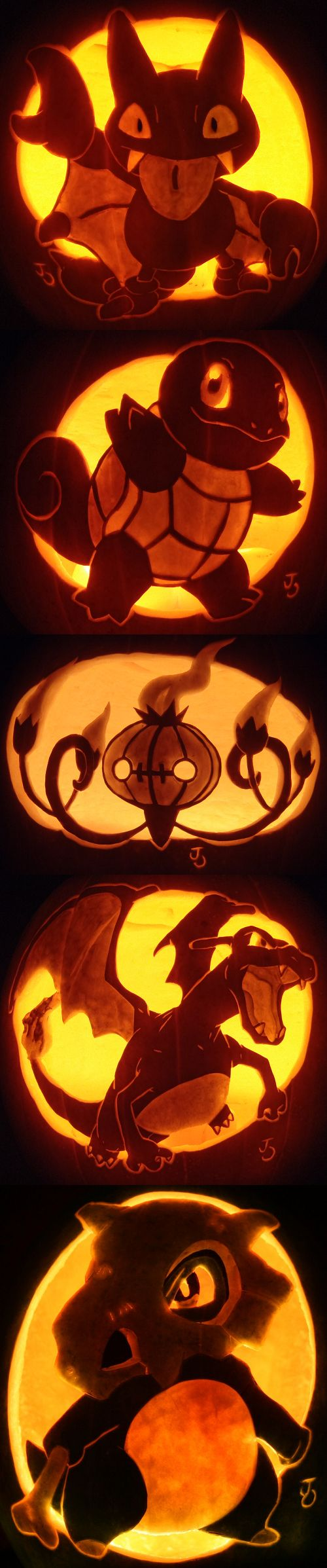Pokemon pumpkin!