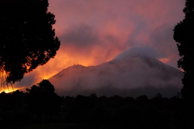 Taranaki Sunset by rickmontana83, via Flickr