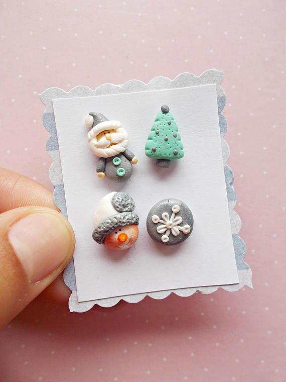 Silver Christmas Earrings  Novelty Earrings  Xmas earrings   #christmasgifts #christmas