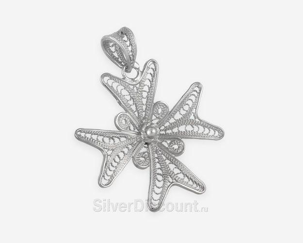 Серебряные подвески, кулоны и медальоны из серебра в интернет-магазине Сильвер Дисконт